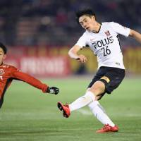 Reds rout Grampus in Levain Cup opener
