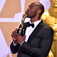 Former Lakers star Bryant wins Oscar for animated short