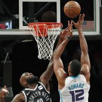 Charlotte's Dwight Howard becomes only eighth player in NBA history with 30-point, 30-rebound game