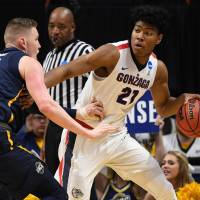 Gonzaga escapes upset against UNC Greensboro in opening round of NCAA Tournament