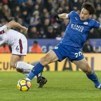 Shinji Okazaki set to make return to pitch for Leicester City