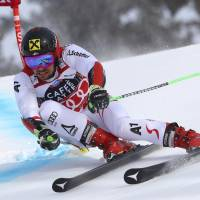 Marcel Hirscher ties pair of legends with 13th World Cup win in a single season