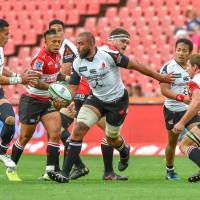 Sunwolves come up just short of improbable upset of Lions