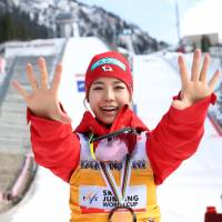 Sara Takanashi wins final World Cup meet of season