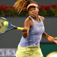 Naomi Osaka tops Maria Sharapova in first-round clash at BNP Paribas Open