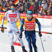 Akito Watabe finishes Nordic combined World Cup championship season in style