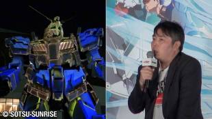 [VIDEO] Announcement for Gundam NT and first projection mapping of Odaiba's Unicorn Gundam statue
