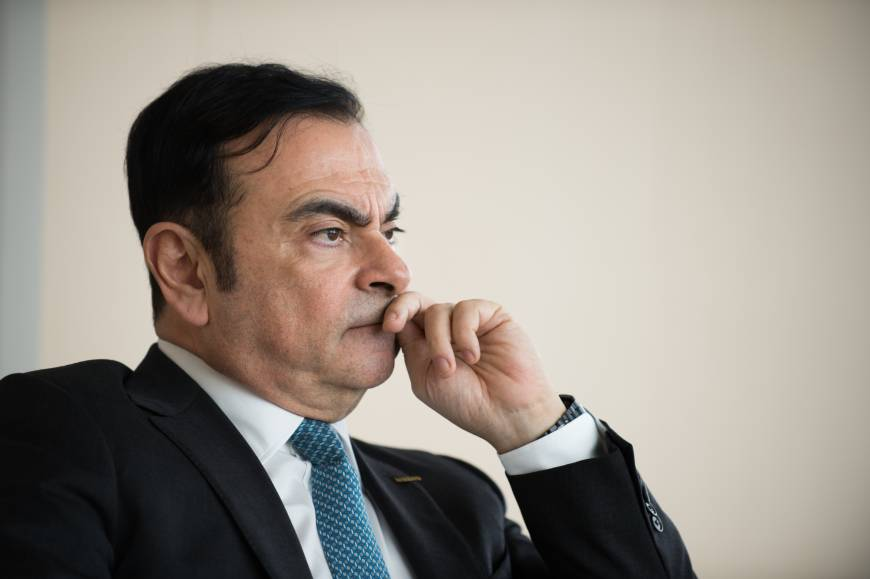 Ghosn mulling changes to Nissan-Renault structure