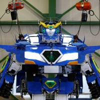 SoftBank-led trio develop robot that can transform into car