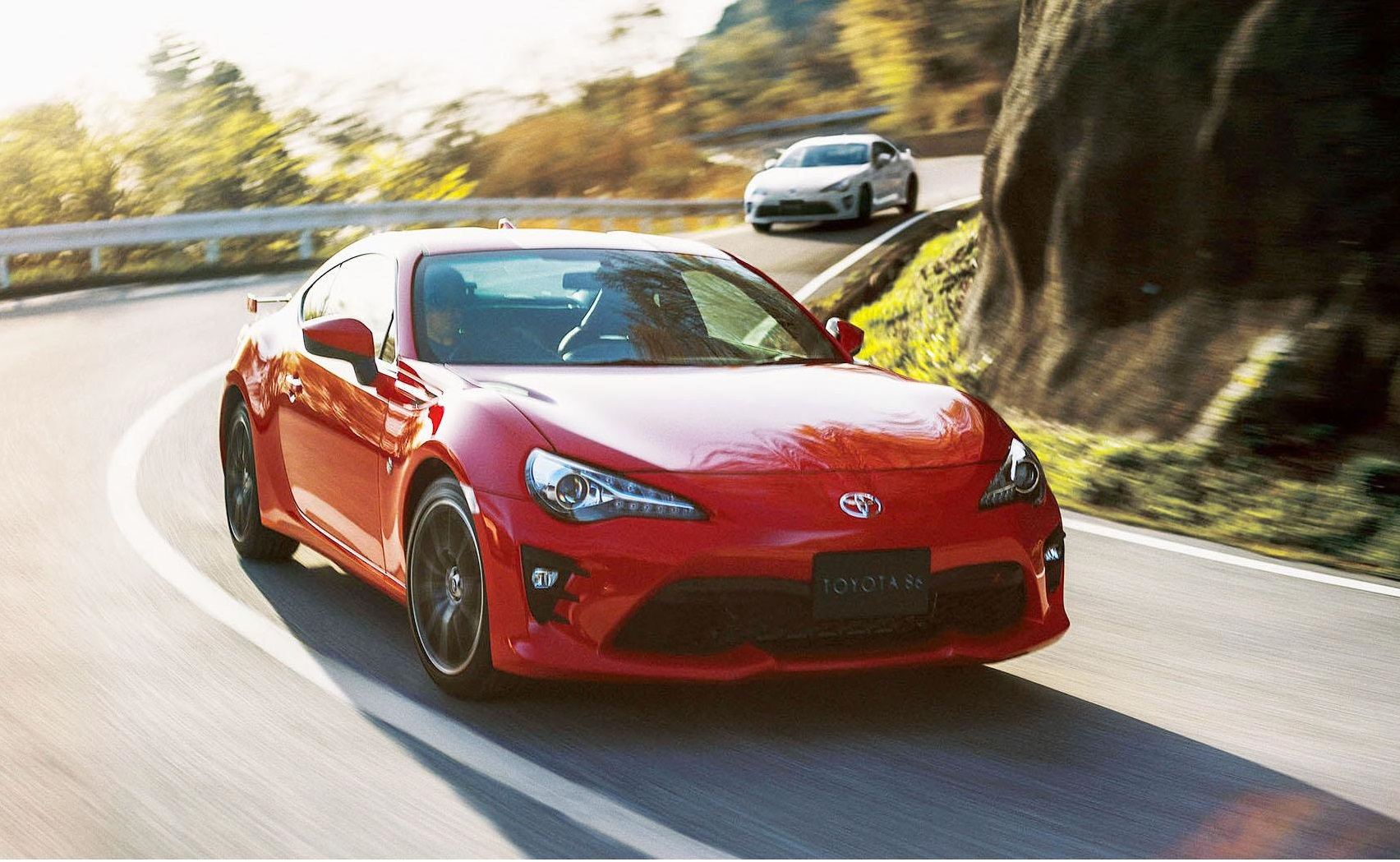 The next version of the 86 sports car could reach the market around 2021. | TOYOTA / VIA KYODO