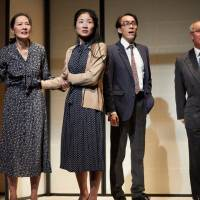 Japanese story: Francis Turnly's 'The Great Wave' tackles the issue of the kidnapping of Japanese citizens by North Korea. Judging by reviews, the play is winning over audiences in London. | PHOTO BY MARK DOUET