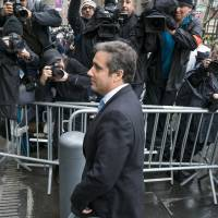 Michael Cohen, President Donald Trump's personal attorney, arrives for a hearing at federal court Monday in New York. | AP