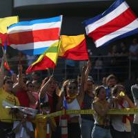 A divided Costa Rica votes in runoff fought over gay rights