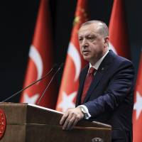 Turkish president calls snap polls in June in move that could increase his grip on power