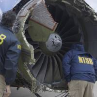 U.S. FAA orders engine inspections after explosion on Southwest Airlines flight