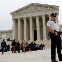U.S. Supreme Court seems ideologically split over Texas electoral districts allegedly favoring whites