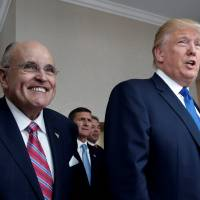Rudy Giuliani to join Trump legal team to deal with Russia probe