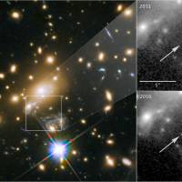 Hubble spots most distant star ever detected halfway across the universe