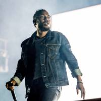 Kendrick Lamar performs during the Festival d'ete de Quebec in Quebec City last July. On Monday, Lamar won the Pulitzer Prize for music for his album 'DAMN.' | AMY HARRIS/INVISION/AP