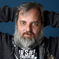 Dan Harmon poses for a portrait during the Comic-Con International event in San Diego last July. After comedy writer Megan Ganz called out her former boss, Harmon, on the sitcom 'Community' for sexually harassing her, she got more than a simple 'I'm sorry.' Harmon, in an episode of his podcast in January 2018, acknowledged specific things he did to her. Ganz called it 'master class' in how to apologize. | CHRIS PIZZELLO/INVISION/AP