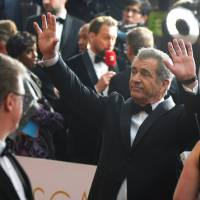 Actor Mel Gibson arrives for the Oscars at the Dolby Theatre in Los Angeles in February. Lesley Wexler, a professor of law at the University of Illinois College of Law, whose work has focused on sexual harassment, armed conflict and apologies, says Gibson, who went on an anti-Semitic rant in 2006, took steps to redeem himself, including offering public apologies and meeting with members of the Jewish community. | POWERS IMAGERY/INVISION/AP