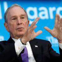 Ex-New York Mayor Bloomberg pledges to pay $4.5 million for Paris climate accord deal