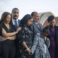 Daughter calls MLK 'apostle of nonviolence' as masses mark 50th anniversary of his assassination