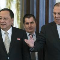 North Korea's foreign minister makes rare Moscow visit amid diplomatic thaw