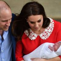 William, Kate's new son is named Louis Arthur  Charles