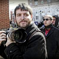 This undated photo provided by The Pulitzer Prizes shows Ryan Kelly, winner of the Pulitzer Prize for Breaking News Photography announced Monday, at Columbia University in New York. | THE PULITZER PRIZES / VIA AP