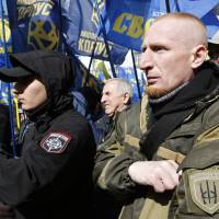 Taboo since World War II, far-right, even racist views now mainstream in Central Europe