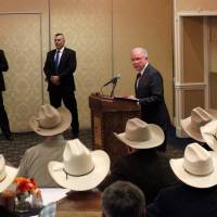 Protesters on hand as Jeff Sessions takes 'zero tolerance' border enforcement fight to New Mexico