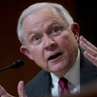 Jeff Sessions won't say if he's recused himself from probe into Trump's lawyer