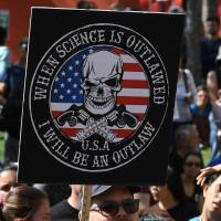 'Make America Smart Again': Demonstrators speak out for science at rallies around the world