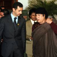 As Kim-Trump summit approaches, Syria strikes evoke memories of Gadhafi's gruesome fate for North Korea