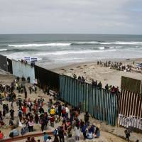 Central American migrants hoping to get asylum in U.S. denied entry at-Mexico border point due to congestion