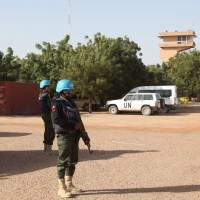 15 militants, one peacekeeper killed in attack on U.N. Timbuktu base: France