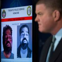 Toronto Police Det. Sgt. Hank Idsinga speaks to the media regarding an unidentified male believed to be connected to the Bruce McArthur case, during a press conference at the Toronto Police Headquarters in Toronto on Wednesday. Police have been trying to identify the remains of at least seven men found at a property McArthur used as storage for his landscaping business and say he targeted men he met through dating apps that cater to gay men, meeting them at bars in the 'Gay Village' area of Toronto, as well as male prostitutes. | COLE BURSTON / THE CANADIAN PRESS / VIA AP
