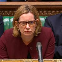 U.K. interior minister quits over growing immigration scandal