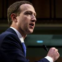 Zuckerberg's internal notes advised him to cite Chinese competition if Senators suggested breaking up Facebook