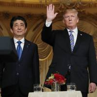Trump and Abe agree to intensify trade talks, but show little progress on metals tariff exemption
