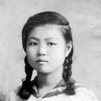 Sachiko Tanaka is seen at around age 15. | COURTESY OF SACHIKO TANAKA / VIA CHUGOKU SHIMBUN