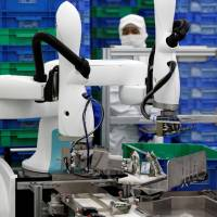 Japanese firms see big future for small-scale industrial robots
