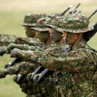 Japan's new marines make their debut, but much preparatory work remains to be done
