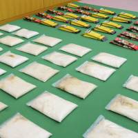 Couple arrested at Tokyo's Haneda airport for attempting to smuggle meth worth ¥1.8 billion