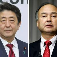 Abe and Masayoshi Son make Time's list of 100 Most Influential People for 2018