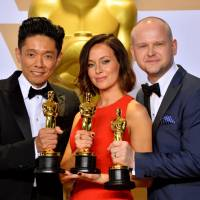 His darkest hours behind him, Kazuhiro Tsuji returns to Hollywood and Oscar glory