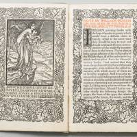 'Note by William Morris on His Aims in Founding the Kelmscott Press' (1898) | PHOTO © BRAIN TRUST INC.