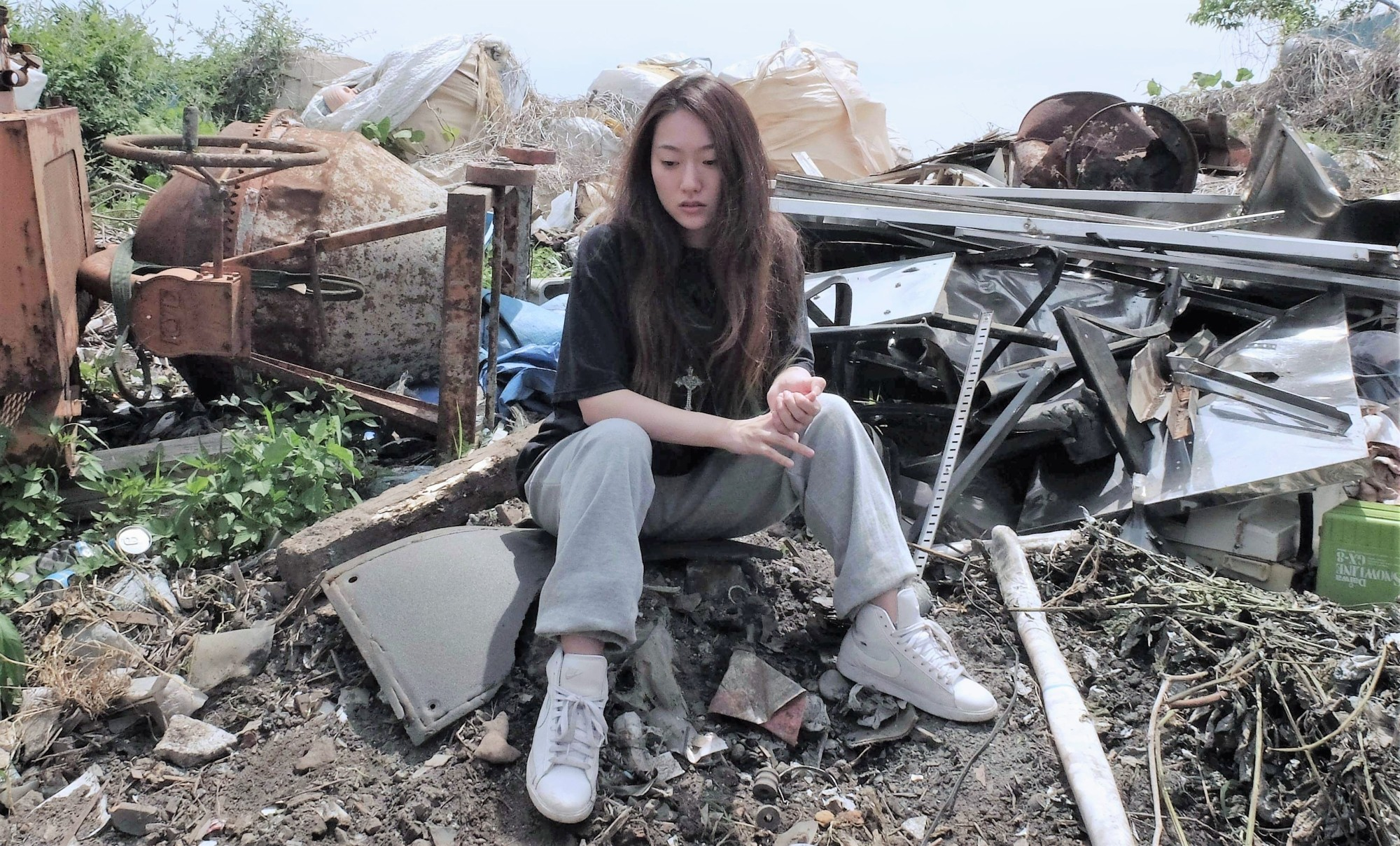 Lose yourself  in the music: Rapper Sakura (Hanae Kan) tackles her fears and anxieties in Daisuke Miyazaki's realistic drama 'Yamato (California).' | © DEEP END PICTURES INC.