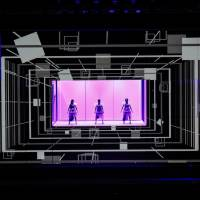 Tech know-how: Electro-pop trio Perfume adds a significant tech element to its performances. These innovations are the focus of a new NHK special airing in April and May. | © YOSUKE KAMIYAMA